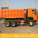競争価格のアフリカの市場のためのよい状態の中間の持ち上がる10wheels HOWOによって使用されるダンプカートラック