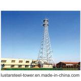 Torretta di telecomunicazione d'acciaio di angolo di prezzi di fabbrica che contributo alla trasmissione del segnale