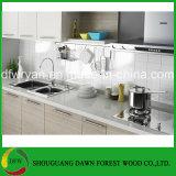 Melamin-Küche-Schrank beendete die Küche-Schränke, die im China-Küche-Schrank hergestellt wurden