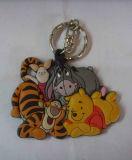 Porte-clés en plastique pour animaux en plastique, porte-clés en plastique (GZHY-KA-071)