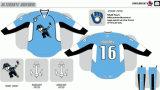 Customized Homens Mulheres Crianças Liga de Hóquei Americana Milwaukee Almirantes 2006-2016 Hóquei no Gelo Jersey