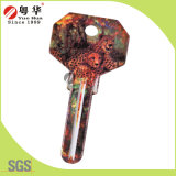 Миниое 3D Animal Painted Color Remote Key Blanks для Locksmith