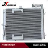 Échangeur de chaleur brasé par vide personnalisé d'ailette de plaque pour Hyundai