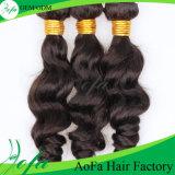 A peruca de cabelo virgem humano do corpo do remy indiano