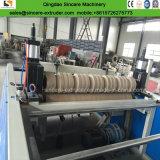 PVC en plastique PP PE PC machines de la plaque d'onde trapézoïdale de l'extrudeuse