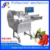 Machine de coupe en dés automatique végétale de Dicer pour le raccord en caoutchouc de pomme de terre