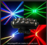 8*10W LED de doble cabeza Spiderbeam faro móvil