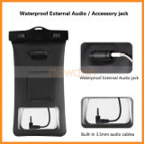 Ipx8 Certified a 100 Feet Armband Earphone Audio Jack Waterproof Bag