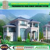 Los hogares prefabricados de la casa del bajo costo, prefabrican la casa modular de la estructura de acero
