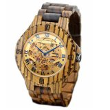 OEM Factory OEM Relógio de madeira de madeira novo relógio mecânico