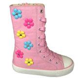 Estilo novo estilo fúcsia Canvas Casual Walking Shoes para meninas