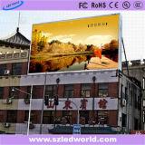 P12 panel LED Fullcolor al aire libre Pantalla de visualización de vídeo para publicidad