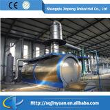 Sistema di plastica residuo di raffinazione del petrolio di pirolisi della pianta di riciclaggio del pneumatico dello scarto