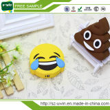 전화를 위한 2017 신제품 PVC Emoji 힘 은행 2600mAh