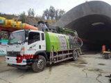 山の強化のためのぬれた具体的なShotcreteポンプトラック