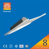 cubierta solar de la lámpara del estacionamiento 120W con tecnología del disipador de calor del PCI