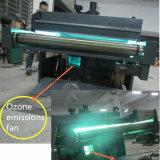 Efecto de copo de nieve multifuncional de la máquina de revestimiento para suelos de madera con tubos de luz UV