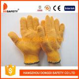 Ddsafety 2017 Orangen-Kurbelgehäuse-Belüftung punktierter Arbeits-Handschuh