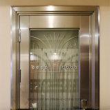 SUS304 (ES-8079)の艶出しのトリムが付いている機密保護のステンレス鋼のドア