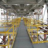 Перила горячего DIP гальванизированные стальные для Grating платформы и шанца