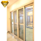 Ultimo prezzo moderno di Windows dei portelli di disegno della finestra di alluminio della stoffa per tendine con la rete di zanzara