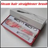 大広間の使用のためのデジタル毛のストレートナのブラシ