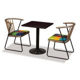 Прочный металлический ног Hotel Restaurant Обеденный стол
