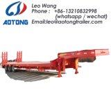 80 Tonnen 2 zeichnet das 4 Wellen-niedriges Bett/Lowboy LKW-Schlussteil
