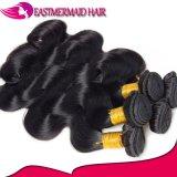 100%の人間の毛髪の拡張ボディ波はバージンのマレーシア人の毛を束ねる