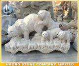 Statua animale di pietra della tigre della scultura