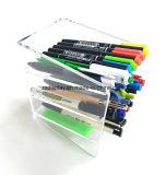 Organiseur de bureau acrylique claire pour stylo, la beauté des fournitures