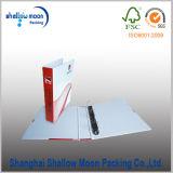 Venta caliente hecho a mano el papel de oficina Carpeta de archivos con la impresión (QYM2703)