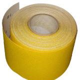 Feuille de papier abrasif à l'oxyde d'aluminium