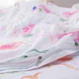 安い反応プリント綿の寝具のシーツセット