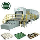Bandeja de la Copa Rotativa Hghy hacer máquinas con sistema de secado bandeja de huevos máquina de formación