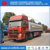 Тележка нефтяного танкера тележки топливозаправщика 18000L топлива HOWO T5g 8X4 алюминиевая