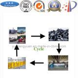 Pneumatico residuo alla strumentazione di distillazione del gasolio