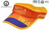 Bordado barato promocional impreso Sun Visor Sports Cap