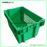 Hot Sale maillage en plastique de nidification de la pile des Fruits Légumes panier de stockage