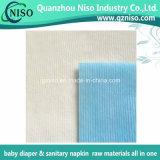 Tissu non-tissé de ceinture de matières premières de couche-culotte de bébé pour la fabrication adulte de couche-culotte