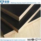 堅い木製のコアWBP接着剤の黒のフィルムは合板に直面した