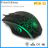 6 Colorful LED Show를 가진 최신 6D Ergonomic Gaming Mouse