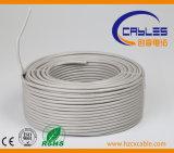 Le câble extérieur UTP/FTP CAT6 imperméabilisent la double veste