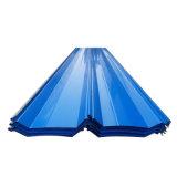 착색된 물결 모양 루핑 장 /PPGI PPGL 기와 또는 Prepainted 장을 지붕을 달기