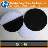 Adhesiva de doble cara de Velcro de gancho y bucle puntos con el embalaje minorista
