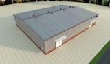 가벼운 강철 구조물 창고, 전 놀라우 작업장 (SSW-20)