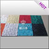 Projeto material do logotipo do formulário da cor do Glitter