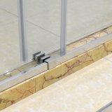 Salle de bains sanitaire d'articles cabine de douche en verre Tempered de 8 millimètres