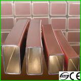 Kupferne Form-Gefäße, kupfernes Form-Gefäß für Stranggussmaschine