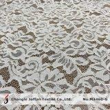 Comercio al por mayor vestidos de novia de encaje encaje de algodón tejido (M3460-G)